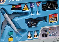 Air Force One Boeing 747 Airport Play Set