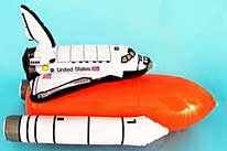 Space Shuttle Full Stack Inflatable 25 inch high