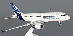 Airbus - House Color - Airbus A319 - 1/150 - Premium model