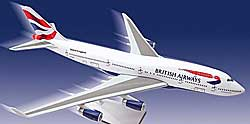 British Airways - Boeing 747-400 - 1/250
