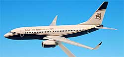 Boeing - House Color - BBJ  - 1/200