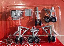 Gear set for Hogan Boeing 747 models 1/200
