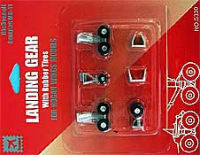 Gear set for Hogan McDonnell Douglas MD-11 models 1/200
