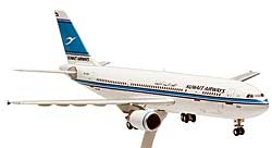 Kuwait Airways - Airbus A300-600 - 1/200 - Premium model