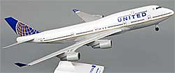 United Airlines - Boeing 747-400 - 1/200 - Premium model