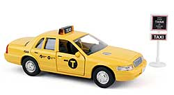 Model car - New York City TAXI - Set