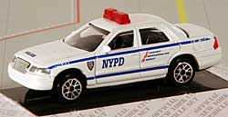 Model car - New York Police Department NYPD - 1/64- Ford Crown Victoria