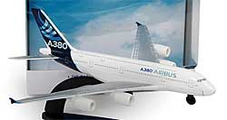Airbus A380 Die Cast Toy Model